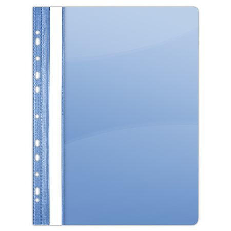 Gyorsfűző, lefűzhető, PVC, A4, DONAU, kék (10 db)