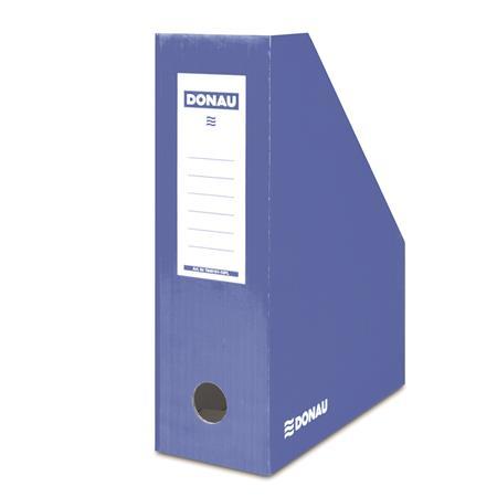 Iratpapucs, karton, 100 mm, DONAU, kék