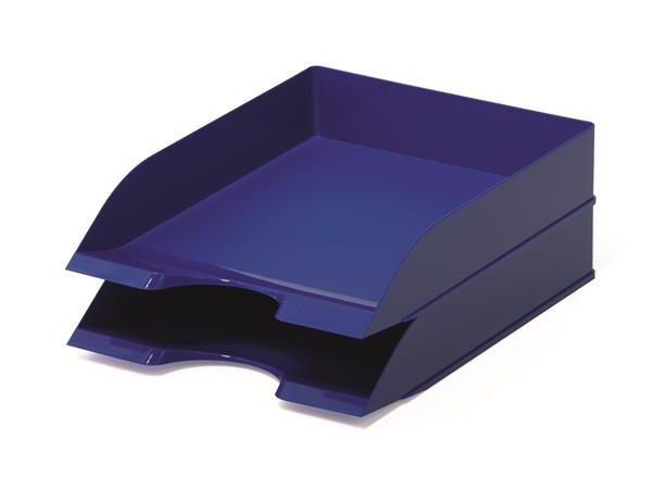 "Irattálca, műanyag, DURABLE, ""Basic"", kék"