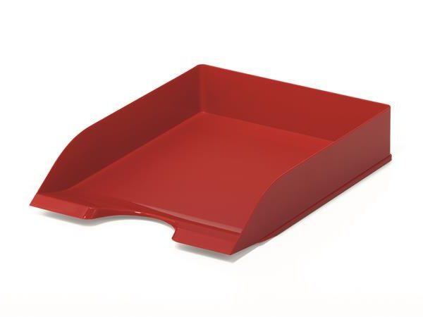 "Irattálca, műanyag, DURABLE, ""Basic"", piros"