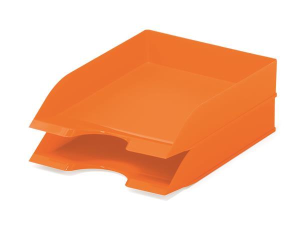 """Irattálca, műanyag, DURABLE, """"Basic"""", narancssárga"""