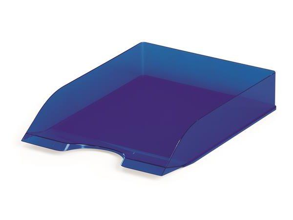 """Irattálca, műanyag, DURABLE, """"Basic"""", áttetsző kék"""
