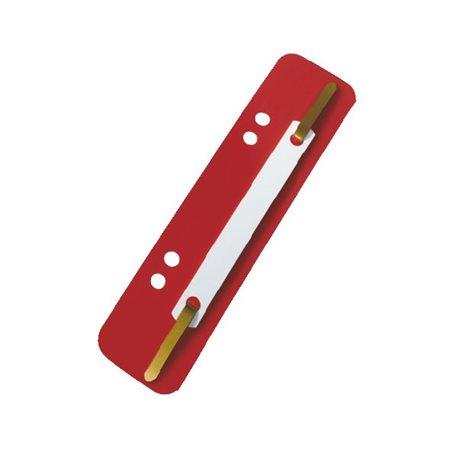 Lefűzőlapocska, PP, ESSELTE, piros (100 db)