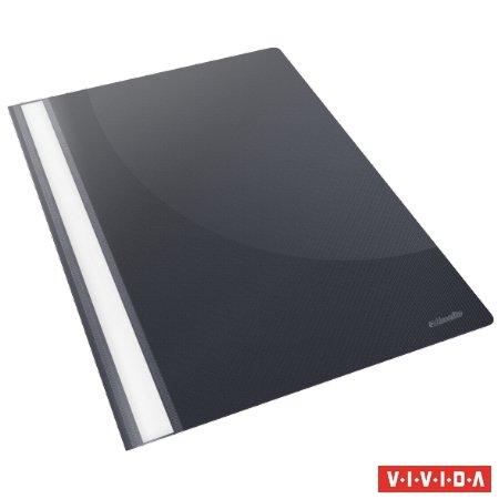 "Gyorsfűző, PP, A4, ESSELTE ""Standard"", VIVIDA, fekete (25 db)"