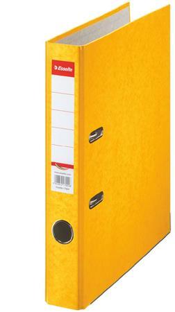 "ESSELTE iratrendező, 50 mm, A4, karton ""Rainbow"" sárga"
