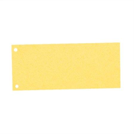 Elválasztócsík, karton, ESSELTE, sárga (100 db)