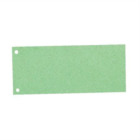 Elválasztócsík, karton, ESSELTE, zöld (100 db)
