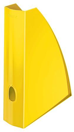 """Iratpapucs, műanyag, 60 mm, elöl nyitott, LEITZ """"Wow"""", sárga"""
