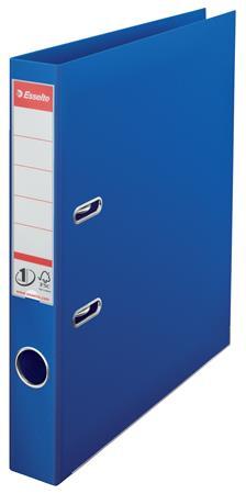 """ESSELTE iratrendező, 50 mm, A4, PP, élvédő sínnel """"Standard"""" kék"""