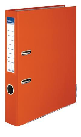 """VICTORIA iratrendező, 50 mm, A4, PP/karton, élvédő sínnel """"Basic"""" narancs"""