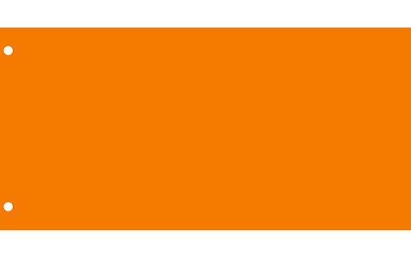 Elválasztócsík, karton, VICTORIA, narancssárga (50 db)
