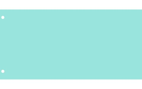 Elválasztócsík, karton, VICTORIA, kék (50 db)