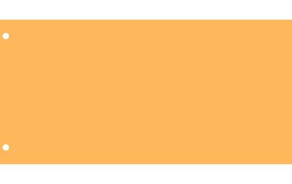 Elválasztócsík, karton, VICTORIA, citromsárga (50 db)