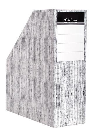 """Iratpapucs, karton, 90 mm, VICTORIA, """"Textil"""""""