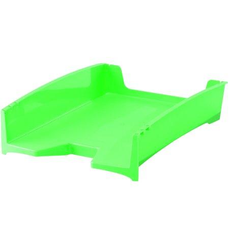 "Irattálca, műanyag, FELLOWES, ""Green2Desk"", zöld"