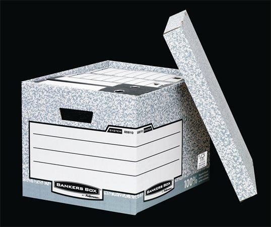 "Archiválókonténer, karton, standard, ""BANKERS BOX® SYSTEM by FELLOWES®"" (10 db)"