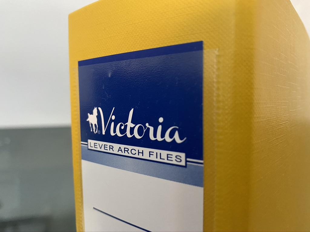 Victoria emelőkaros iratrendező